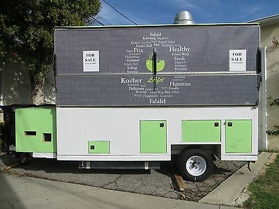 $ Food Cart $ For Sale**all Permits** Excellent Condition @ Ready To Wrap & Roll