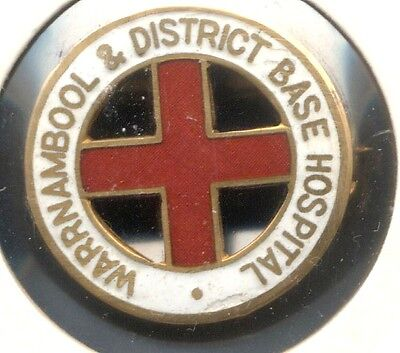 Warrnambool And District Hospital 9 Carat Gold Named Nurses Badge