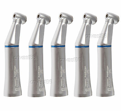 5 NSK Style Dental Dentaire Low Speed Handpiece Contra Angle Contre Inner Spray