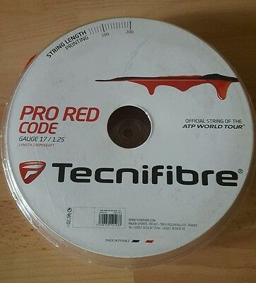 Technifibre Pro Red Code Tennis String 17 guage / 1.25mm