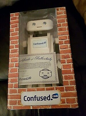 Confused. Com Brian The Robot Toy.