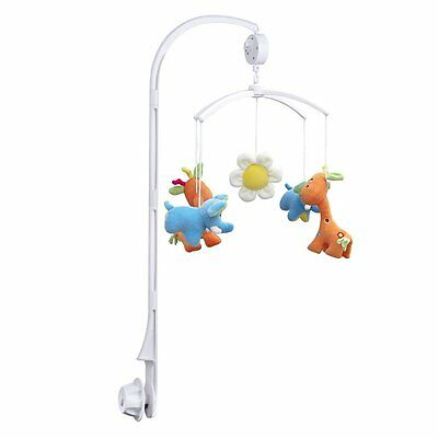 Baby Crib Mobile Bed Bell Toy Holder Arm Bracket + Wind-up Music Box US Stock