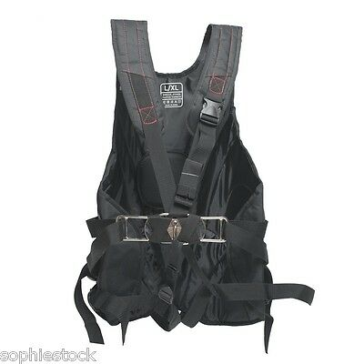 BNWT 2016 Gul Stokes Trapeze Harness in Black GM0225 All Sizes