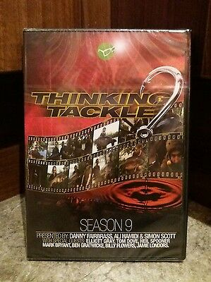 Thinking Tackle DVD season 9