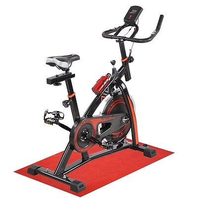 Commercial Spin Bike - Exercise Gym Indoor Home Cardio Workout Pulse Monitor