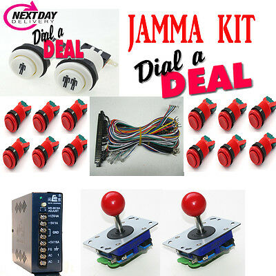 jamma arcade machine full kit for tables and uprights