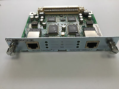 Expansion card 3com 3C17122 - 1Gbps x 2 ports for 3Com 4300 Switches