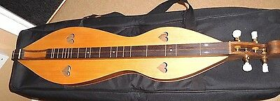 Bespoke hand made Dulcimer with pick up