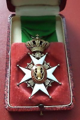 Sweden Swedish Order of Vasa 5th class + box medal