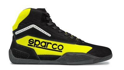 Shoes SPARCO GAMMA KB-4 Child Karting Boots KB4 Kart Youth Black Yellow NEW 2017