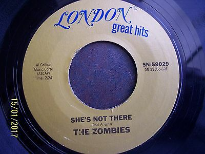 The Zombies:   She's Not There      Sn-59029      Con Ex