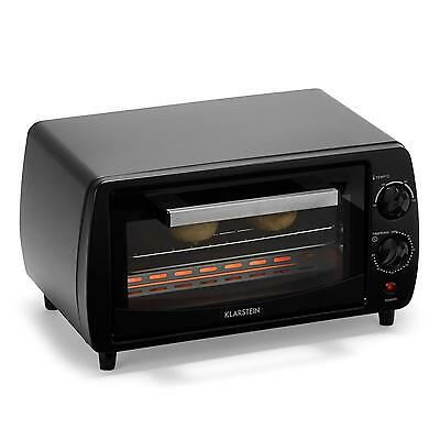 Klarstein Mini Kitchen Oven Compact 800 W 11 L Cooking Space Home Shop Timer