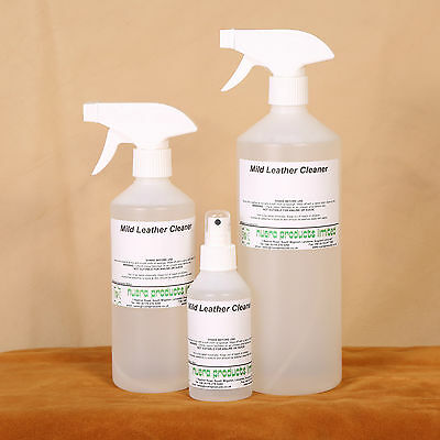 Mild Leather Cleaner, Genral waterbased cleaner