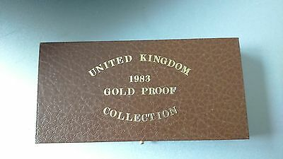 1983 Gold Proof 3 Coin Collection Set (Sovereign, £2, Half Sovereign)