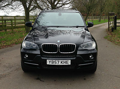 BMW X5 3.0d auto SE 7 SEATER BLACK WITH BLACK LEATHER