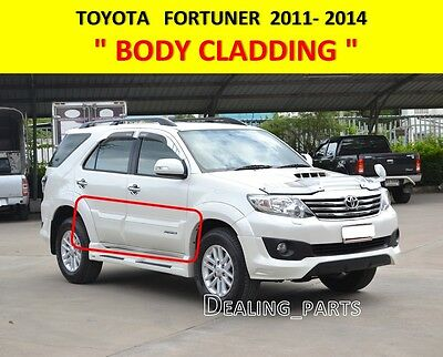 Body Cladding For Toyota Fortuner 2011-2014