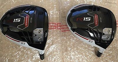 "New Taylormade R15 460 9.5° ""head Only"" With Adapter"
