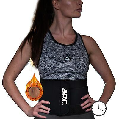AQF Sauna Slimming Belt Body Wrap Shaper Weight Loss Fat Burner Cellulite Burner