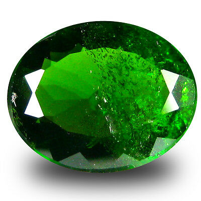 2.26 ct  Valuable Oval Shape (10 x 8 mm) Green Chrome Diopside Natural Gemstone