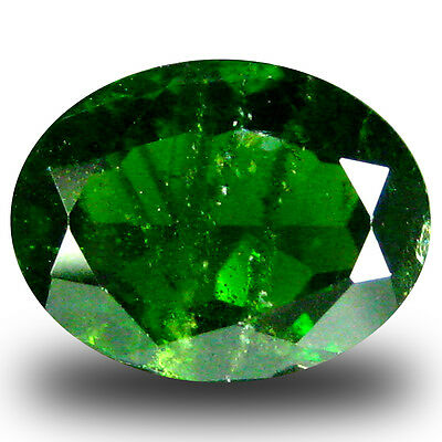 2.18 ct  Good-looking Oval Shape (9 x 7 mm) Green Chrome Diopside Gemstone