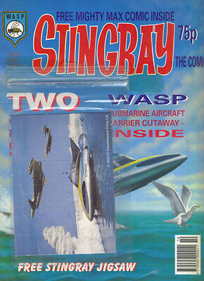 STINGRAY THE COMIC No.12 March 13th-26th 1993 w/ FREE JIGSAW & MIGHTY MAX COMIC