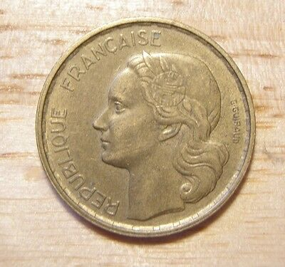 France French Francais 20 Francs coin 1952