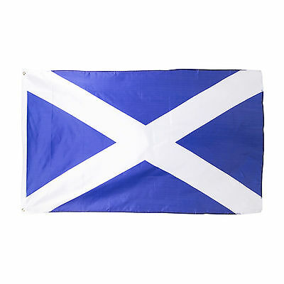 St Andrews Cross Scotland Saltire Burns Night Flag Decoration - 3 x 5 ft