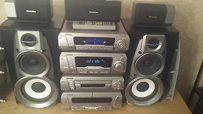 Technics Hi Fi Dolby Surround Sound Seperates 5CD/DVD Changer Immaculate