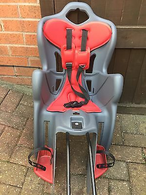 Bellelli Rear Child Bike / Bicycle Seat Carrier For Baby Kids Up To 22kg