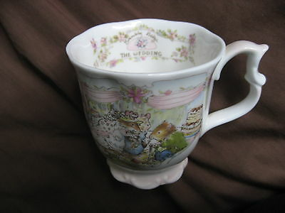 Royal Doulton Brambly Hedge Beakers Engagement AND Wedding
