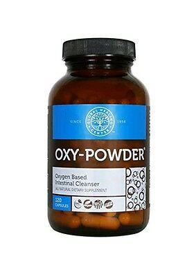 Oxy Powder Oxygen Based Intestinal Cleanser 120 Capsules, Colon Cleanser