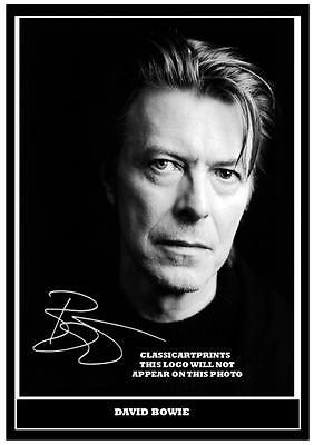 7  David Bowie  Signed   Photograph