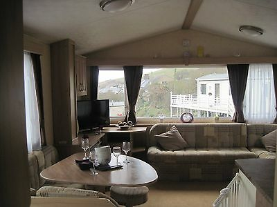 For sale used pre-owned static caravan holiday home sited beach Devon