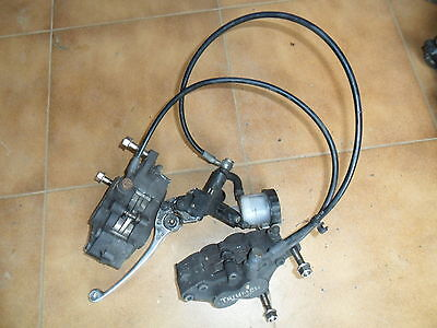 TRIUMPH 955 Sprint ST RS Front Brake assembly Hoses Reservoir Calipers lever