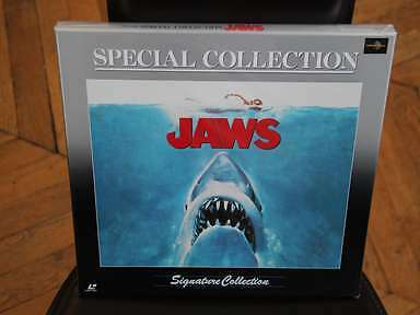JAWS Dents de la Mer 1975 Special Collection Signature LD BOX Laserdisc