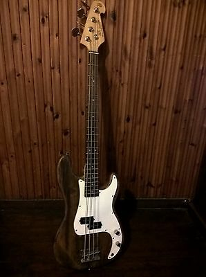 SX brand name reliced Electric Bass Guitar - As pictured