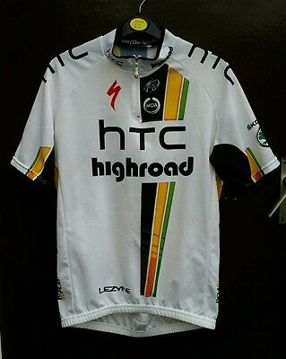 """Htc highroad Specialized MOA road racing cycling jersey top L 40"""" S/S 2011 2012"""