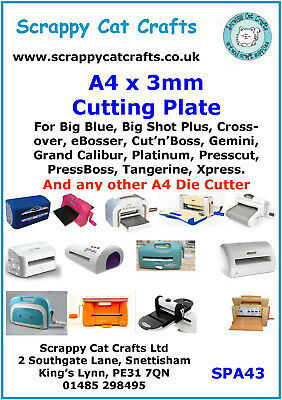 XCU 268014 X-Cut Xpress Adjustable Die Cutter A4 Magnetic Shim Pack of Two