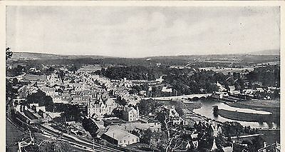 Postcard - Callander from the Crags