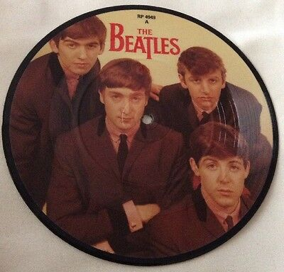 """The Beatles Love Me Do/p.s I Love You 7"""" Single Picture Disc Vinyl"""