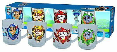 Paw Patrol  4 Cup Mug 8oz Brand New Set /Official