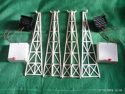 Subbuteo Accessories - C101 Continental Floodlights X 2