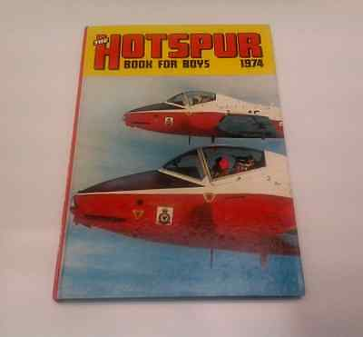 The Hotspur Book for Boys 1974 Hardcover collectors