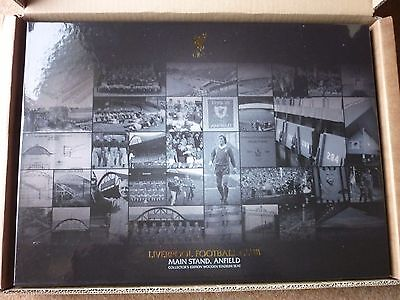 Liverpool - LFC Collector's Edition Main Stand Boxed Wooden Seat Official No 197