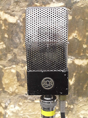 RCA Vintage Ribbon Mic Type 74-B Working mic, Original and ready to record!