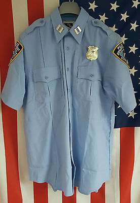 Police Uniform Shirt/Hemd, Cop, NYPD, LAPD, Gr: S, M, L, XL, XXL New York Police