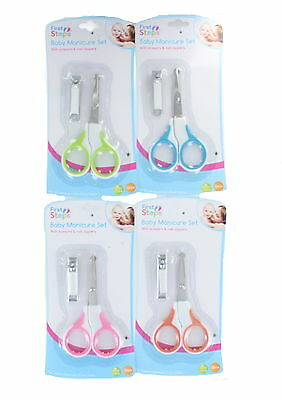 First Steps Baby Manicure Scissors & Clippers Set