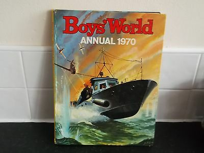 Boys World Annual 1970