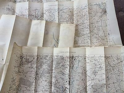 War Office Maps A Collection Of 6 Job Lot