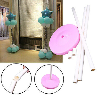 1.5m Balloon Column Base Stand Display Wedding Party Decorations Supplies Holder